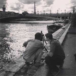 Fiming Paris On the Run